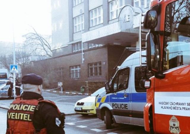 Здание VŠE в Праге вновь эвакуировали из-за сообщения о бомбе