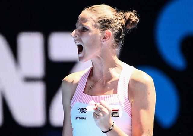 Каролина Плишкова сотворила теннисное чудо в игре против Серены Уильямс