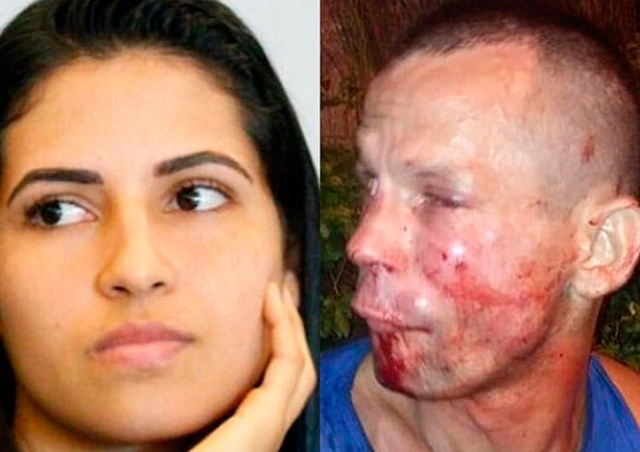 Не на ту напал: девушка-боец UFC избила грабителя