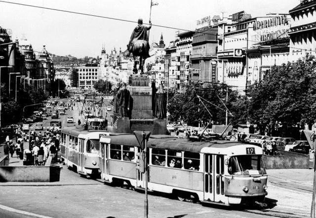 Власти Праги одобрили возвращение трамваев на Вацлавскую площадь