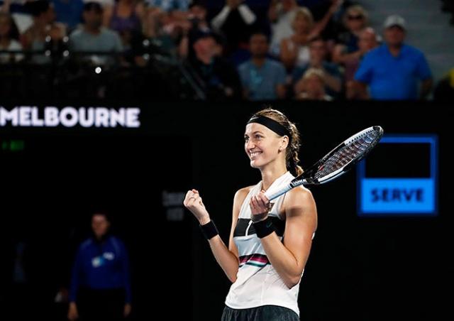 Петра Квитова вышла в финал Australian Open