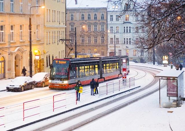 Местоположение пражских трамваев теперь можно отслеживать онлайн