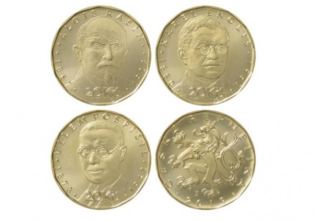 ЦБ Чехии выпустит новые памятные монеты в 20 крон