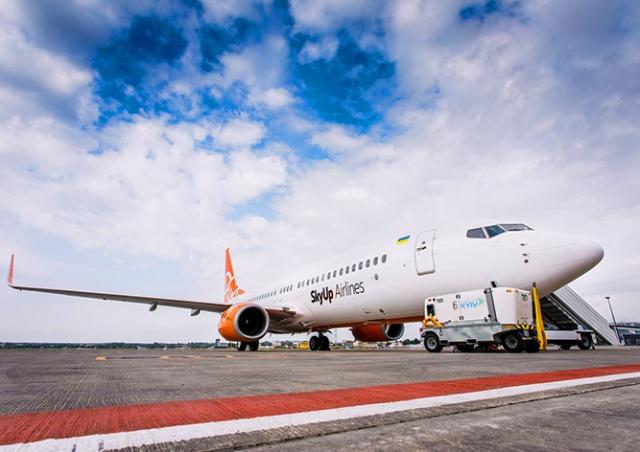 Украинский лоукостер SkyUp начнет летать в Чехию