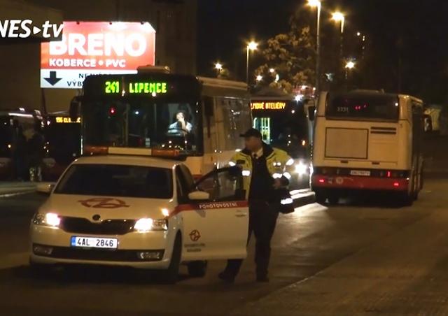 В Праге автобус сбил женщину