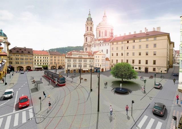 Мэрия Праги назвала сроки реконструкции Малостранской площади