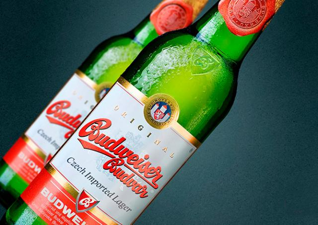 Budějovický Budvar экспортировал рекордный объем пива