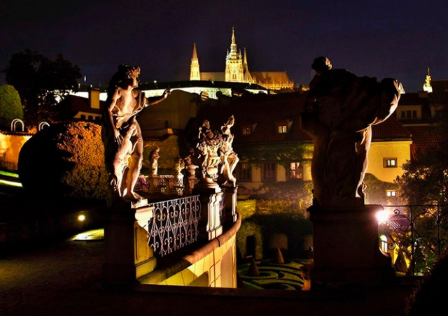 Вртбовский сад Праги преобразится на один вечер