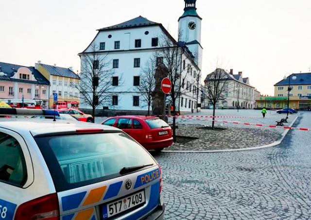 В мэрии чешского города взорвалась бомба