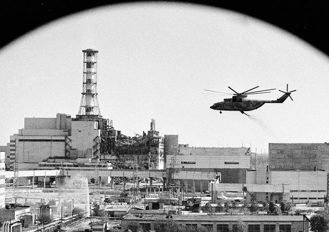 Ровно 33 года назад произошла авария на Чернобыльской АЭС
