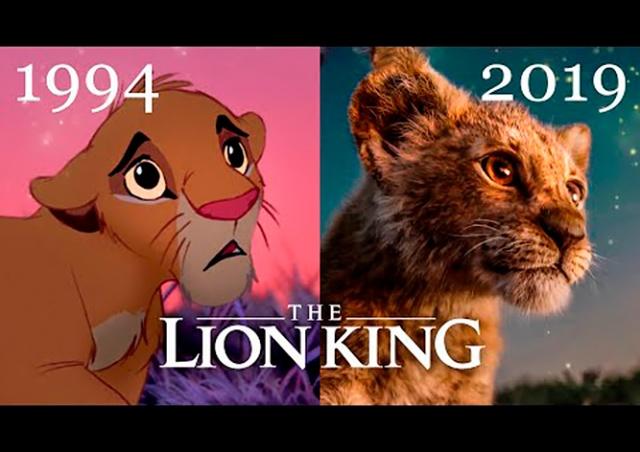 Вышел трейлер фильма «Король Лев»: покадровое сравнение с оригиналом