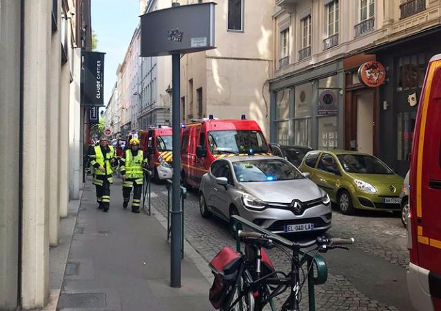В центре Лиона прогремел взрыв: есть пострадавшие