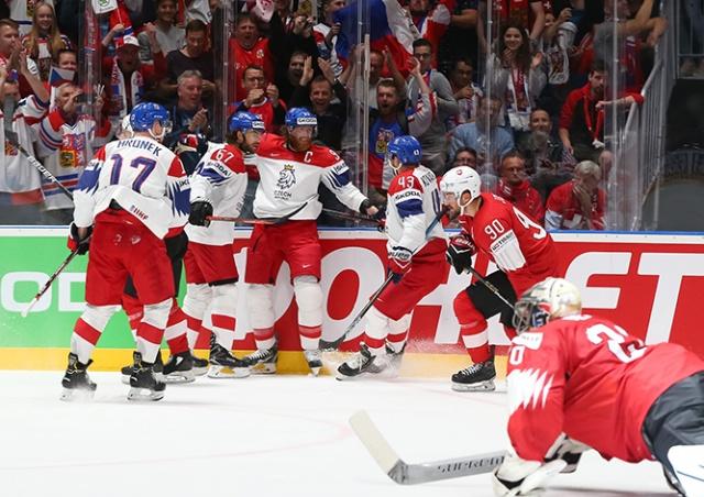 Чехия сыграет с Германией в четвертьфинале чемпионата мира