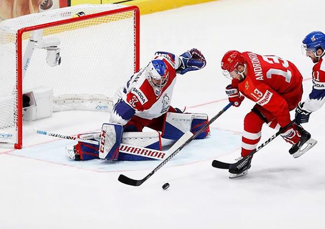 Россия обыграла Чехию на чемпионате мира по хоккею: видео