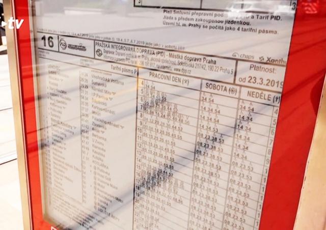На остановке в Праге тестируют экраны на электронных чернилах