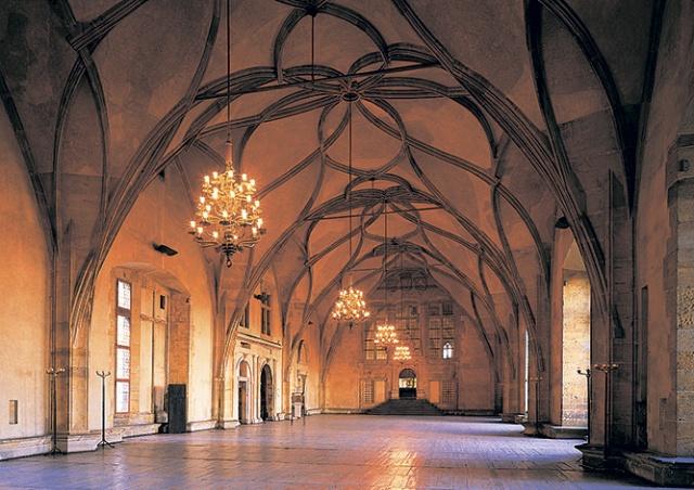 Пражский Град впервые в истории сдал в аренду Владиславский зал