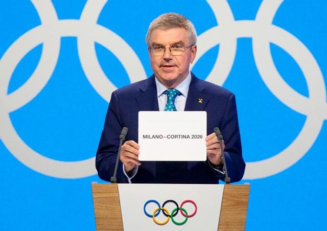 Зимняя Олимпиада 2026 года пройдет в Италии