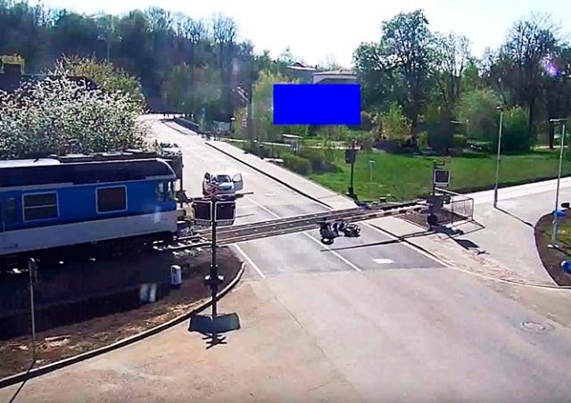 Героический поступок жителя Чехии попал на видео