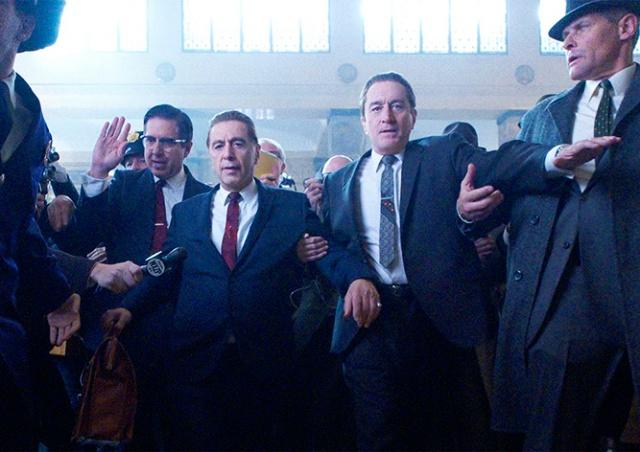 Роберт Де Ниро и Аль Пачино снова вместе: вышел трейлер «Ирландца»