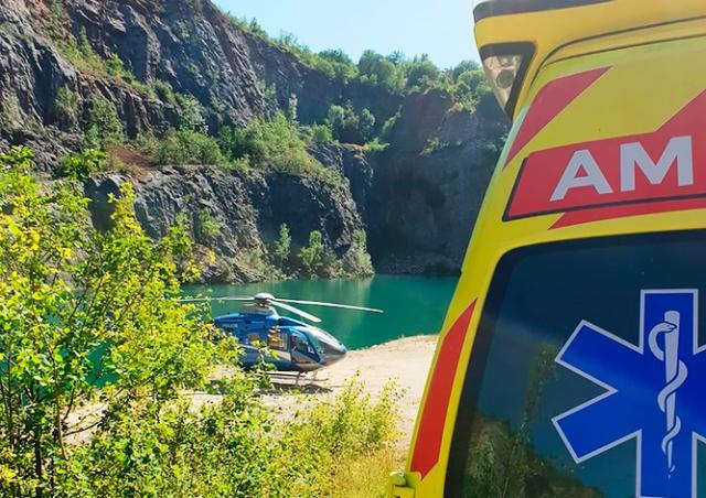 В Чехии туристка упала со скалы карьера «Большая Америка»
