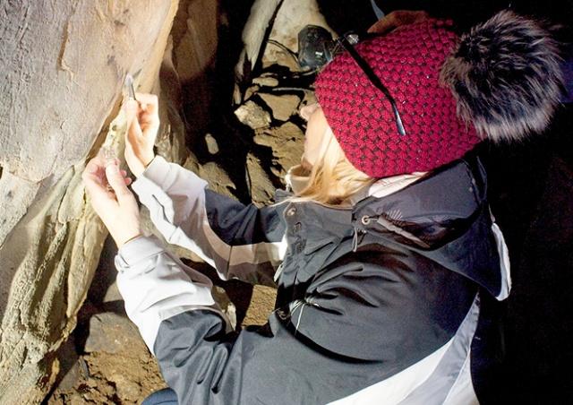 Ученые обнаружили в чешской пещере рисунки 6000-летней давности