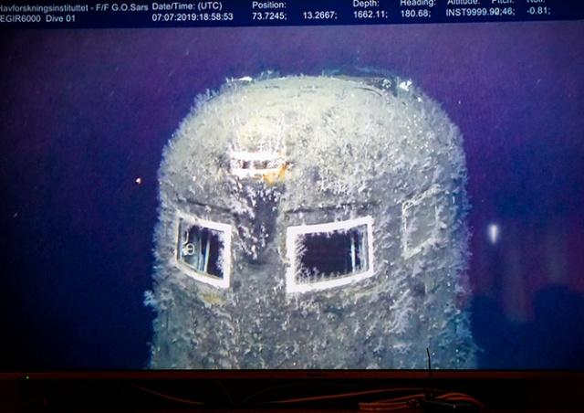 Норвегия обнаружила утечку радиации на затонувшей подлодке «Комсомолец»: видео