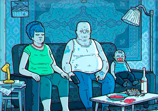 Российская версия «Симпсонов» появилась в Сети: видео
