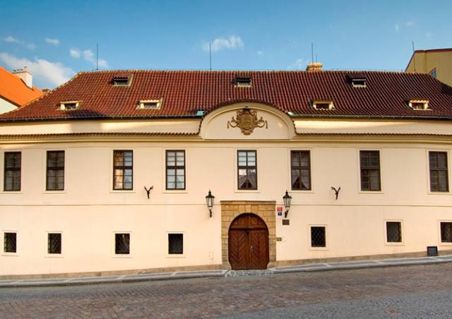 Грзанский дворец в Праге откроют для посетителей