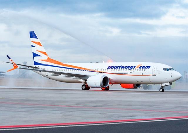 Самолет SmartWings экстренно сел в Брно