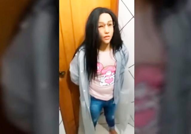 Преступник пытался сбежать из тюрьмы под видом дочери: видео