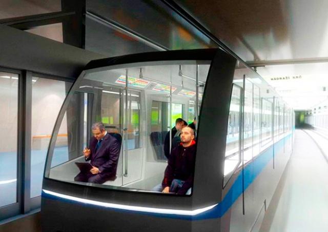 Поезда без машинистов поедут и по «красной» ветке пражского метро