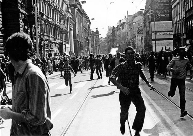 В Праге пройдет марш в память о советском вторжении 1968 года