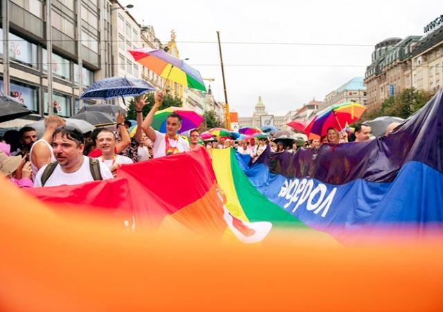 Пражский гей-парад собрал 30 тыс. участников: видео