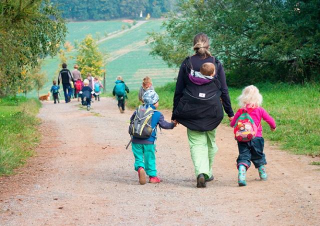 В Чехии воспитательницы детского сада забыли ребенка в парке