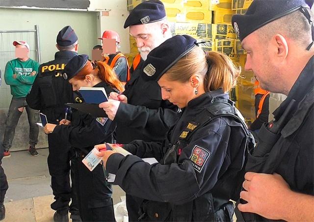Полиция по делам иностранцев обнаружила на пражской стройке 43 нелегала: видео