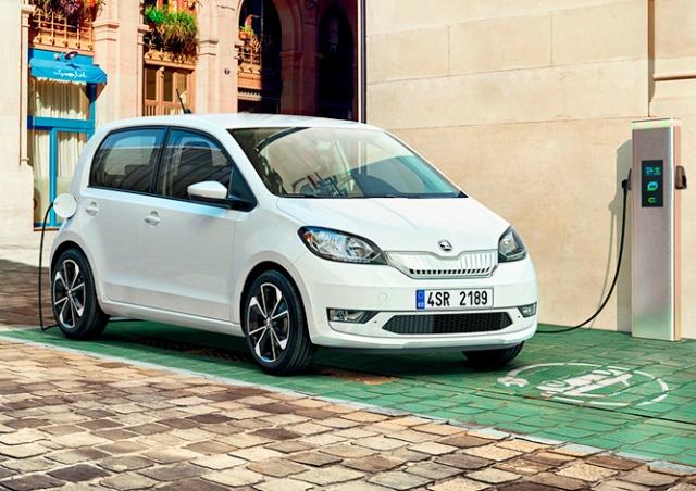 Škoda назвала цену своего первого электромобиля