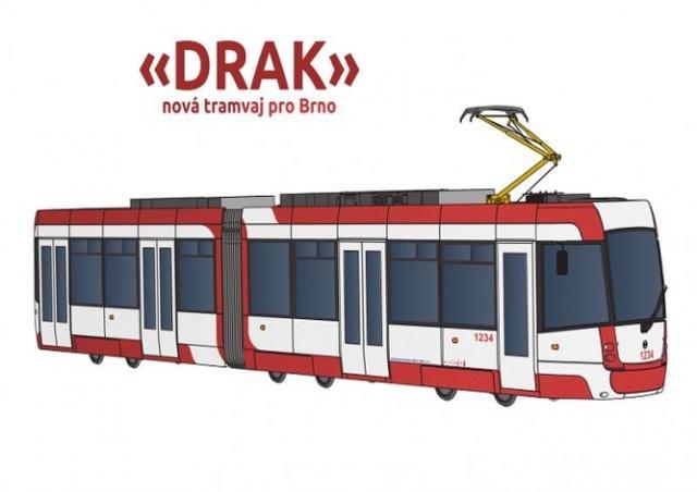 Жители Брно сами выбрали дизайн и название новых трамваев