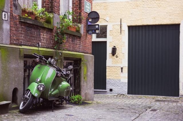 В Праге появились скутеры BeRider