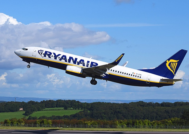 Распродажа у Ryanair: авиабилеты по 5 евро