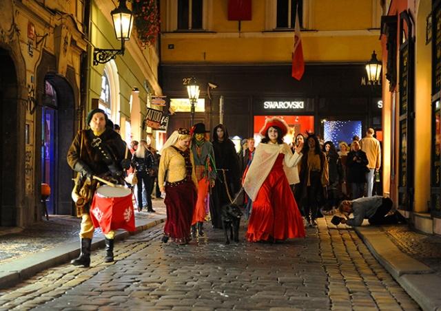 Вечером 1 ноября в центре Праги пройдет парад чудовищ