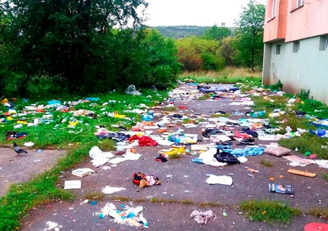 В Чехии ради эксперимента прекратили убирать улицу в цыганском гетто