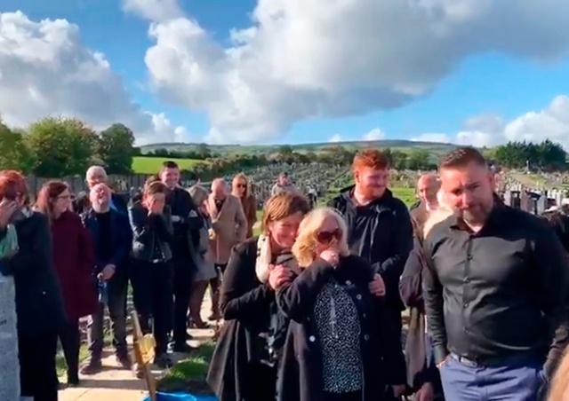 Ирландец устроил розыгрыш на собственных похоронах: видео