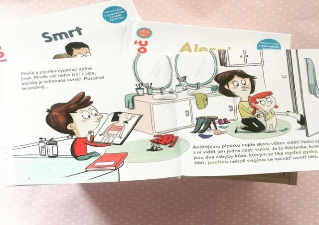 В Чехии вышла книга о половых органах для детей от четырех лет