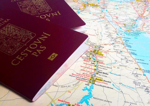 Чешский паспорт занял 9-е место в рейтинге свободы путешествий