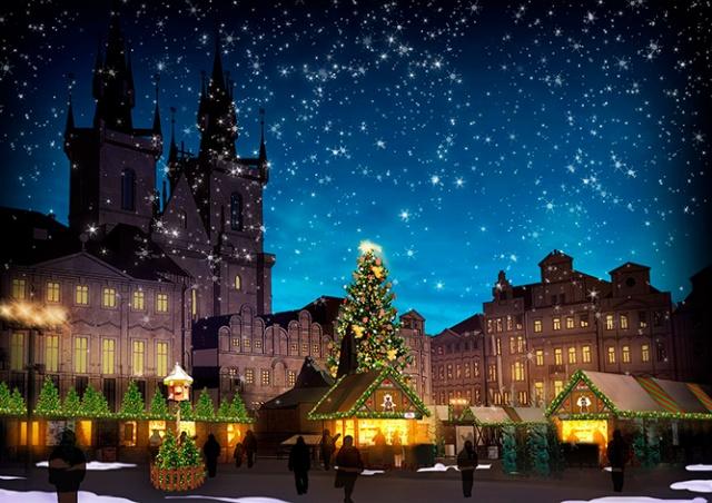 Какой будет главная рождественская ярмарка Праги