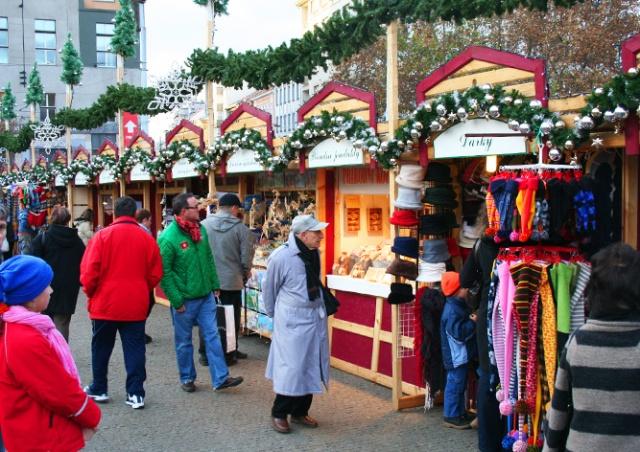 В среду в Праге откроется первая рождественская ярмарка