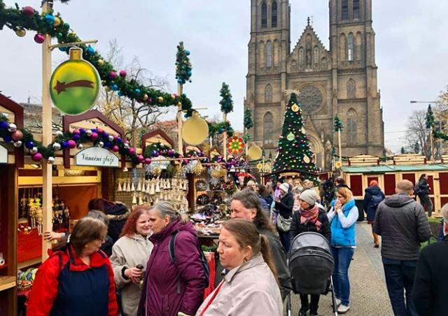 В Праге открылась первая рождественская ярмарка