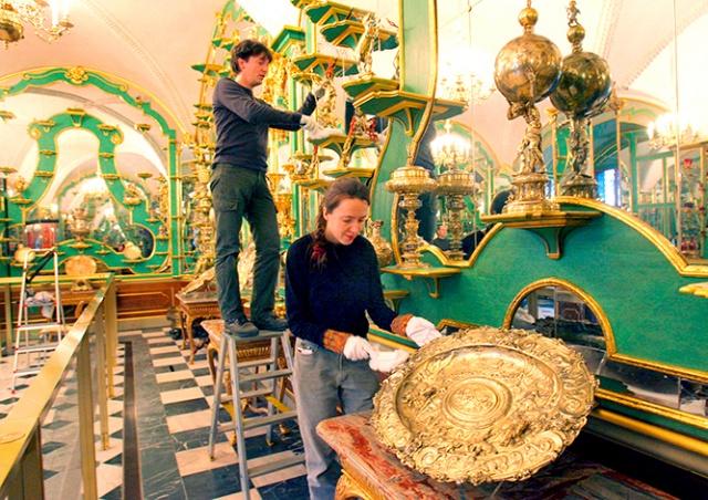 В Дрездене ограбили сокровищницу «Зеленый свод»: 1 млрд евро ущерба
