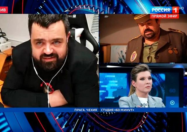 Пражский политик назвал лжецами Скабееву и Попова в эфире «России 1»