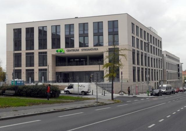 В Праге 7 открылся торговый центр Stromovka